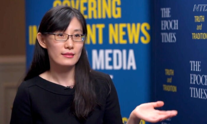 Virus whistleblower Dr. Yan Limeng. (The Epoch Times)