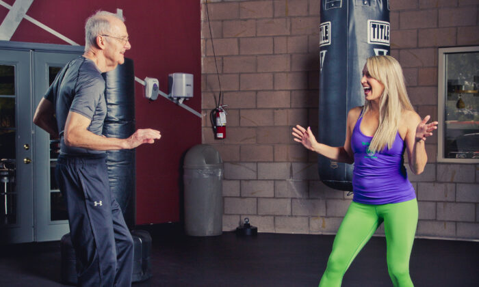 Jim Owen is a fitness enthusiast and advocate for older adults. (Black Swan Photography)