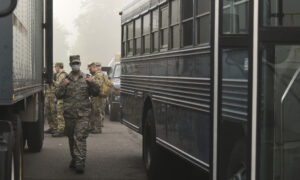 National Guard Deployed in Massachusetts to Take Children to School