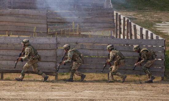 Ukraine-US Military Exercises Begin as Russia Holds Drills in Belarus