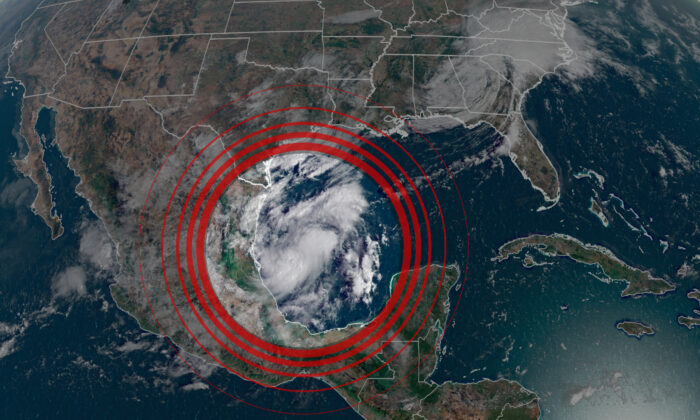 Another storm is forming and the hardest-hit areas along the Gulf Coast. (Courtesy of CNN Weather)