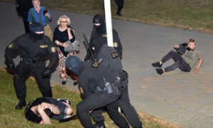 Belarus Activists Make List of Police From Protest Crackdown