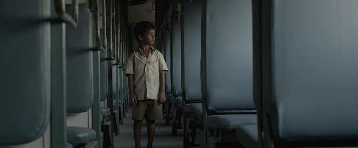 """boy on train in """"Lion"""""""