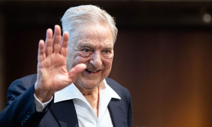 Hungarian-born US investor George Soros in Vienna, Austria on June 21, 2019. (Georg Hochmuth/AFP via Getty Images)