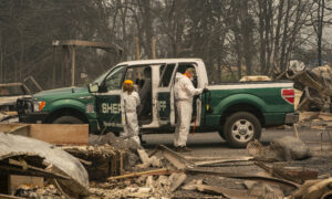 Three Men Cited for Manning Illegal Roadblock Amid Wildfires