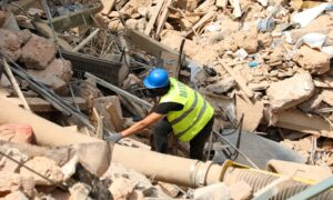 Lebanon's Army Finds Fireworks Cache at Devastated Beirut Port