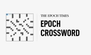 Thursday, May 13, 2021: Epoch Crossword