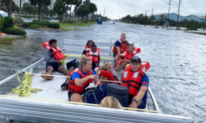 Coast Guard Saves 9 People, 1 Dog Stranded During Hurricane Sally Flashflood