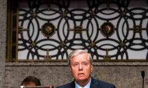 Sen. Lindsey Graham Confronted at Airport by Women Calling Judge Barrett Racist