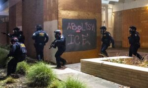 Portland ICE Building Set on Fire During Riots: Reports