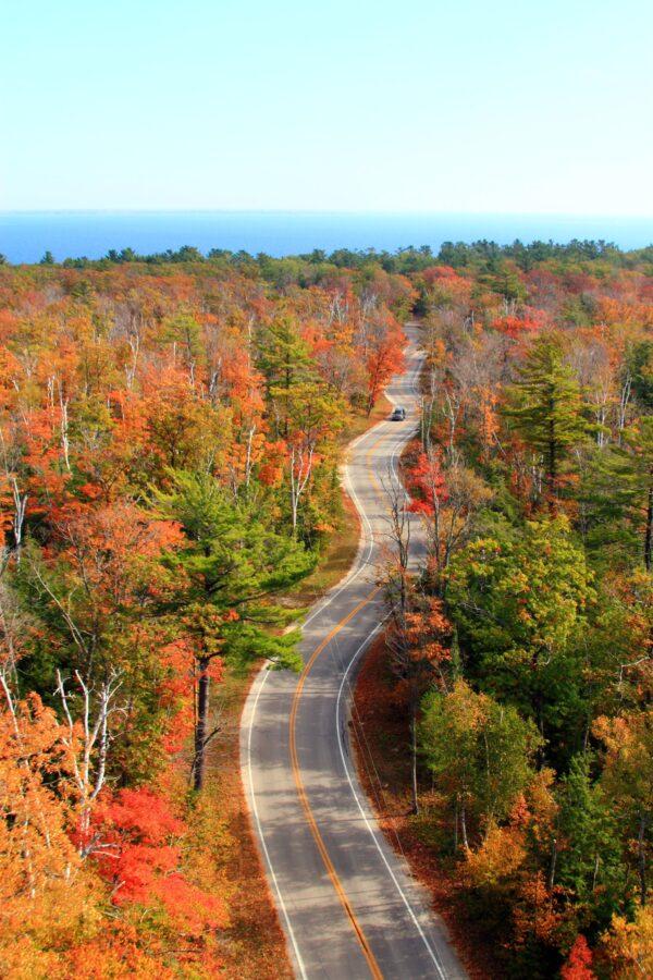 door county in fall