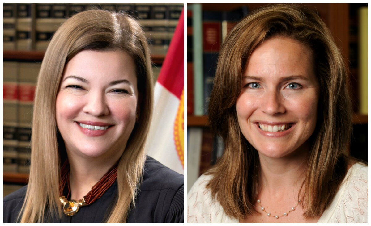 Barbara Lagoa, Amy Coney Barrett