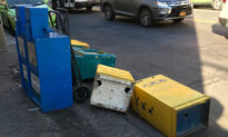 Dozens of Epoch Times Newspaper Boxes Vandalized in NYC