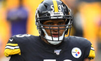 NFL's Maurkice Pouncey Displays Fallen Pittsburgh Officer on Helmet, Breaks Step With Teammates