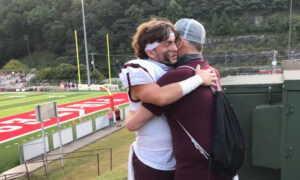Nurse Arranges for a Plane to Fly a Dying Dad to See Son Play Football One Last Time