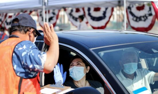 Drive-In Theater Hosts Citizenship Ceremony for 150 New Americans Because of COVID