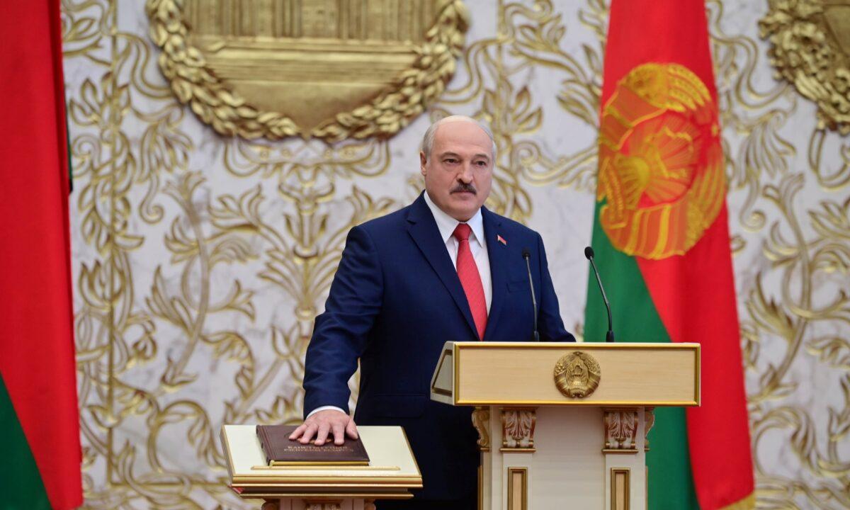 Aleksandr Lukashenko inauguration