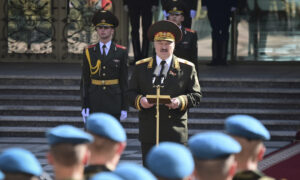 Belarus's Lukashenko Sworn In at Secretive Ceremony