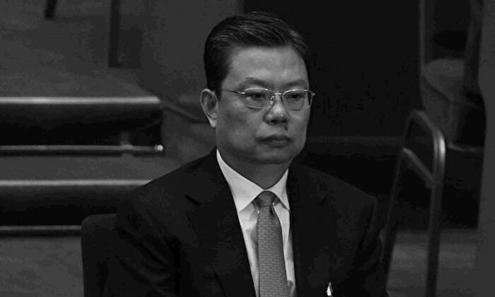 Zhao Leji, secretary of the Central Commission for Discipline Inspection, attends the closing of the 3rd Session of the 12th National People's Congress at the Great Hall of the People in Beijing on March 15, 2015. (Lintao Zhang/AFP/Getty Images)