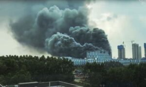 Huawei Lab Building in China Catches Fire, Killing Three