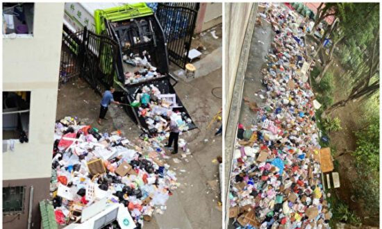 Student Backlash Over Lockdowns Spreads to Guangzhou as Trash Piles Up, Food Prices Soar