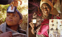 Nonprofit Helps Eradicate Poverty With Solar-Powered Lighting: 'It's a Game-Changer'