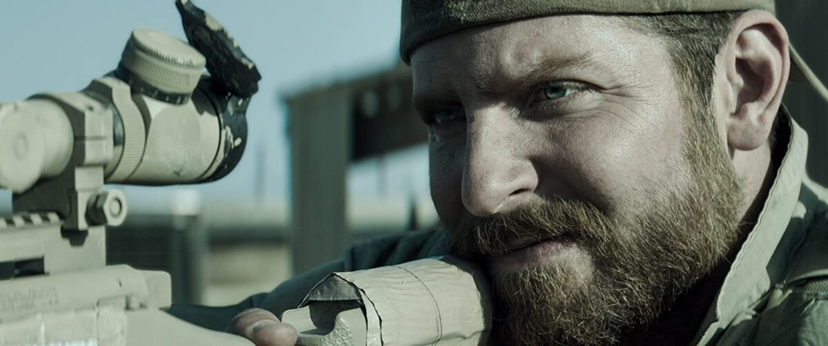 """SEAL sniper on rooftop in """"American Sniper"""""""