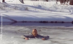 Surviving A Fall Through The Ice