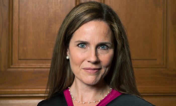 Judge Amy Coney Barrett in Milwaukee, Wis., on Aug. 24, 2018. (Rachel Malehorn, rachelmalehorn.smugmug.com, via AP)