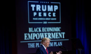 Trump Unveils Promises to Black Americans With 'Platinum Plan'