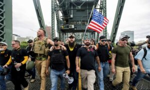 Oregon Governor Declares Emergency Ahead of Proud Boys Demonstration