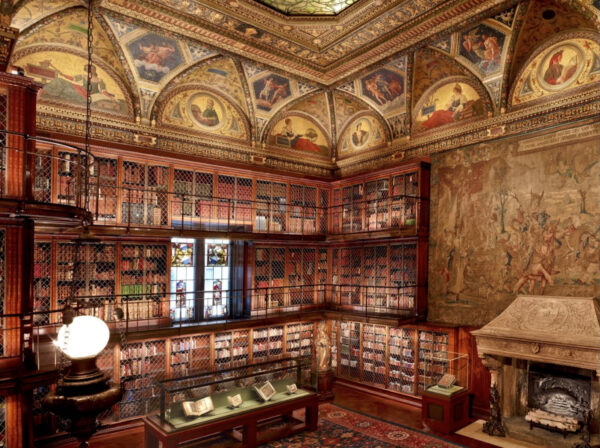 The East Room of the Morgan Library & Museum.