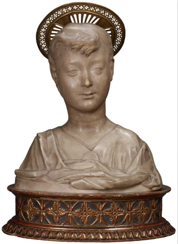 Bust of the Christ Child,