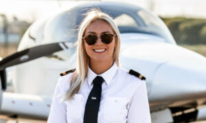 25-Year-Old Former Air Hostess Quits Her Job to Fulfill Her Dream of Becoming a Pilot