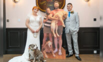 Couple Holds Wedding With Life-Size Cardboard Cutouts of Guests Amid Pandemic