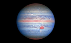 Hubble Space Telescope Reveals New Images of Jupiter's Brewing Storms, Shrinking Spots