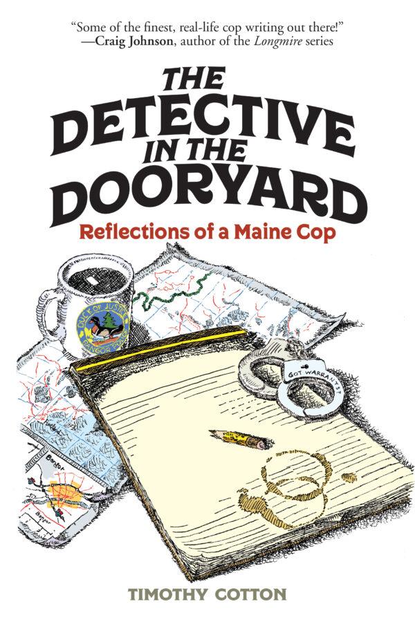 detective in dooryard