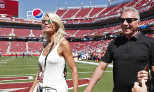 Former 49er Joe Montana, Wife Block Home Intruder From Kidnapping Grandchild