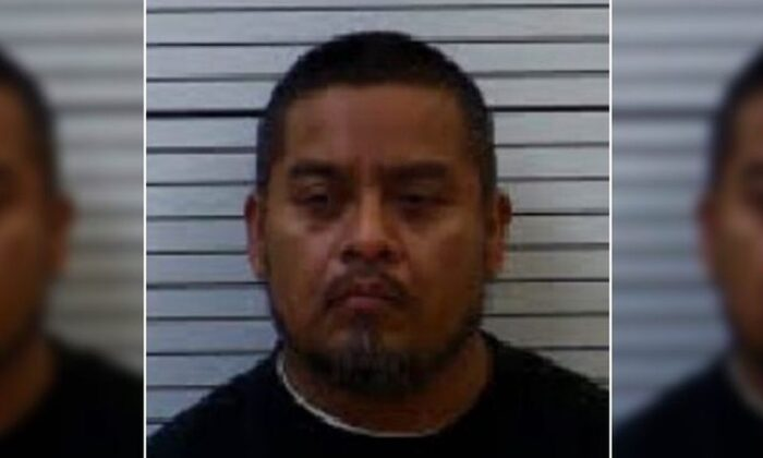 Benito Morales Mendez, 39, in a booking photo. (Cherokee County Sheriff's Office)