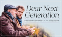 Dear Next Generation: 'Reach Out a Helping Hand, and Gratefully Accept One Should the Occasion Arise'