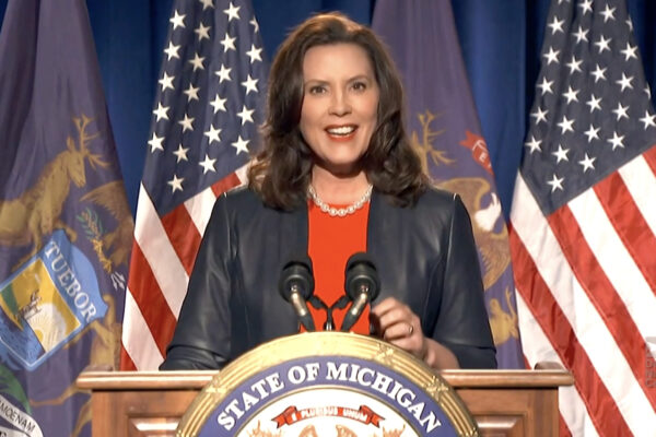 2020 Democratic National Convention, Michigan Gov. Gretchen Whitmer