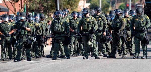 Orange County Sheriff deputies