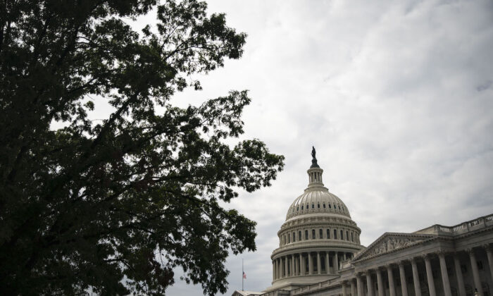 The U.S. Capitol building stands in Washington, Sept. 28, 2020. (Al Drago/Getty Images)