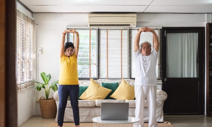 Your home can be a cleverly disguised gym with a little motivation and a few helpful videos online. (Nattakorn_Maneerat/Shutterstock)