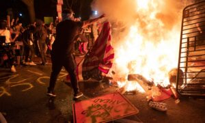 'This Is Not Seattle': Okla State Rep Creating Law to Make Burning American Flag Illegal
