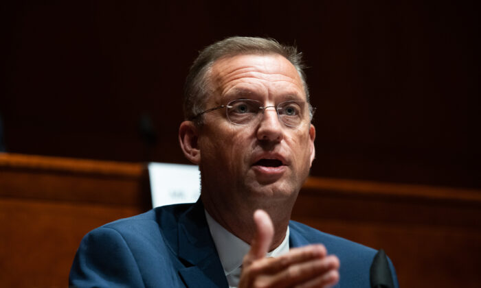 Rep. Doug Collins (R-Ga.) speaks during a hearing in Washington on June 10, 2020. (Graeme Jennings/Pool/Getty Images)
