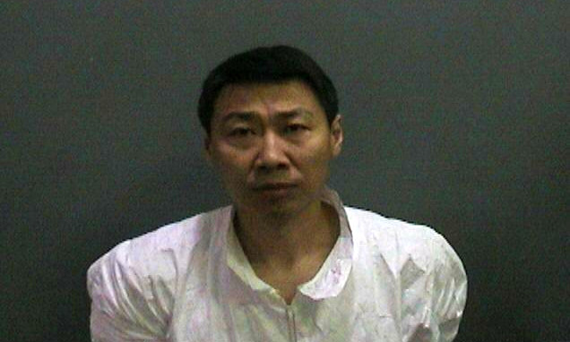 Convicted killer Hongli Sun in a booking photo from 2015. (Courtesy of the Orange County District Attorney's Office)