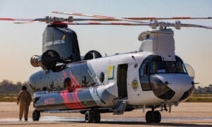 OC Fire Authority Unveils New Supersized Helitanker to Fight Wildfires