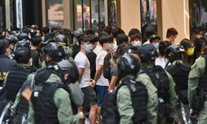 Defying Police Ban, Hongkongers Protest on China's 'National Day'