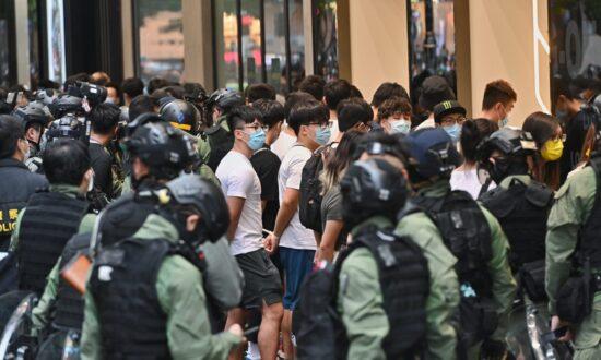 Defying Police Ban, Hongkongers Protest on China's 'National Day'